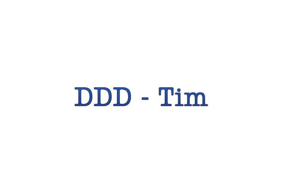 DDD da Tim