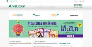Editora Abril site